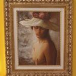 DEL BASSO OLIO SU TELa 40x50 cm.